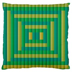 Pattern Grid Squares Texture Large Cushion Case (Two Sides)