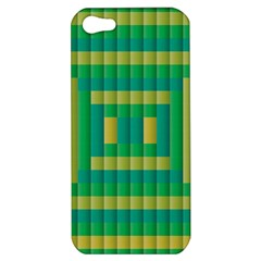 Pattern Grid Squares Texture Apple Iphone 5 Hardshell Case