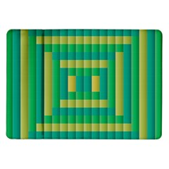 Pattern Grid Squares Texture Samsung Galaxy Tab 10.1  P7500 Flip Case