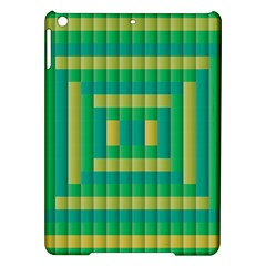 Pattern Grid Squares Texture Ipad Air Hardshell Cases