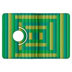 Pattern Grid Squares Texture Kindle Fire Hdx Flip 360 Case