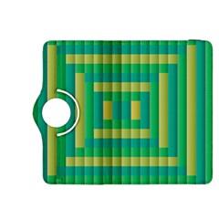 Pattern Grid Squares Texture Kindle Fire Hdx 8 9  Flip 360 Case