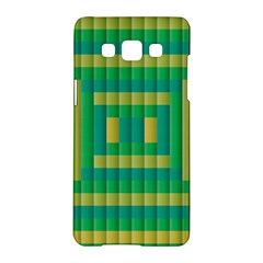 Pattern Grid Squares Texture Samsung Galaxy A5 Hardshell Case