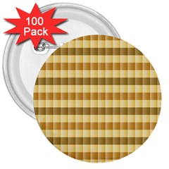 Pattern Grid Squares Texture 3  Buttons (100 pack)