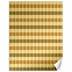 Pattern Grid Squares Texture Canvas 12  x 16