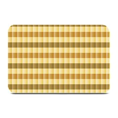 Pattern Grid Squares Texture Plate Mats