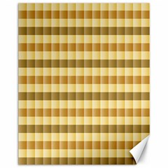 Pattern Grid Squares Texture Canvas 11  x 14