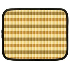Pattern Grid Squares Texture Netbook Case (Large)