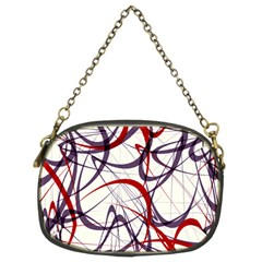 Purple Red Chain Purses (Two Sides)