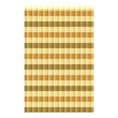 Pattern Grid Squares Texture Shower Curtain 48  x 72  (Small)