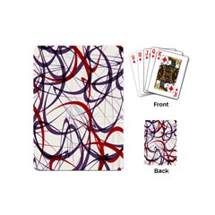 Purple Red Playing Cards (Mini)