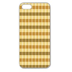 Pattern Grid Squares Texture Apple Seamless iPhone 5 Case (Clear)