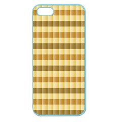 Pattern Grid Squares Texture Apple Seamless Iphone 5 Case (color)