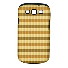 Pattern Grid Squares Texture Samsung Galaxy S III Classic Hardshell Case (PC+Silicone)