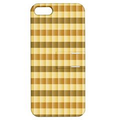 Pattern Grid Squares Texture Apple iPhone 5 Hardshell Case with Stand