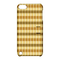 Pattern Grid Squares Texture Apple iPod Touch 5 Hardshell Case with Stand