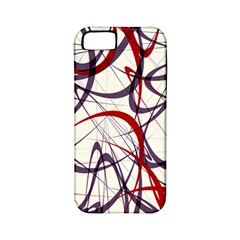 Purple Red Apple iPhone 5 Classic Hardshell Case (PC+Silicone)