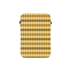Pattern Grid Squares Texture Apple iPad Mini Protective Soft Cases