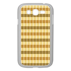 Pattern Grid Squares Texture Samsung Galaxy Grand DUOS I9082 Case (White)