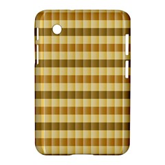 Pattern Grid Squares Texture Samsung Galaxy Tab 2 (7 ) P3100 Hardshell Case