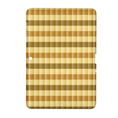 Pattern Grid Squares Texture Samsung Galaxy Tab 2 (10.1 ) P5100 Hardshell Case
