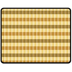 Pattern Grid Squares Texture Double Sided Fleece Blanket (Medium)