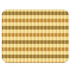 Pattern Grid Squares Texture Double Sided Flano Blanket (Medium)