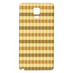 Pattern Grid Squares Texture Galaxy Note 4 Back Case