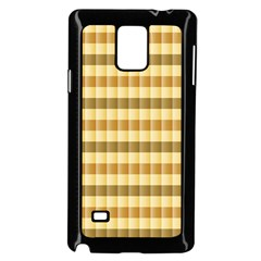 Pattern Grid Squares Texture Samsung Galaxy Note 4 Case (black)
