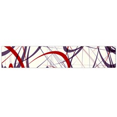 Purple Red Flano Scarf (Large)