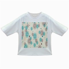 Small Circle Blue Brown Infant/Toddler T-Shirts