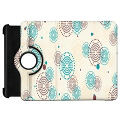 Small Circle Blue Brown Kindle Fire HD 7