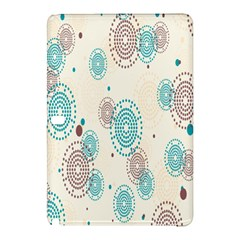 Small Circle Blue Brown Samsung Galaxy Tab Pro 10.1 Hardshell Case