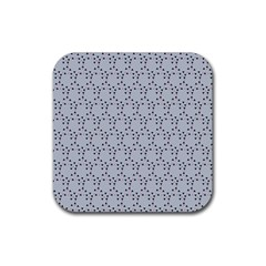 Winter Bear Triangel Rubber Coaster (Square)