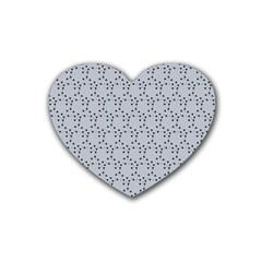 Winter Bear Triangel Heart Coaster (4 pack)
