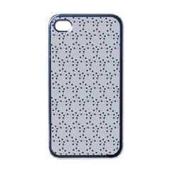 Winter Bear Triangel Apple iPhone 4 Case (Black)
