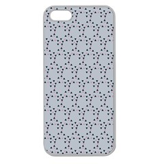 Winter Bear Triangel Apple Seamless iPhone 5 Case (Clear)