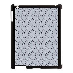Winter Bear Triangel Apple iPad 3/4 Case (Black)