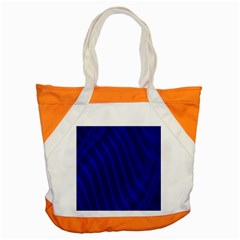 Sparkly Design Blue Wave Abstract Accent Tote Bag