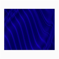 Sparkly Design Blue Wave Abstract Small Glasses Cloth (2-Side)