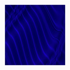 Sparkly Design Blue Wave Abstract Medium Glasses Cloth (2-Side)