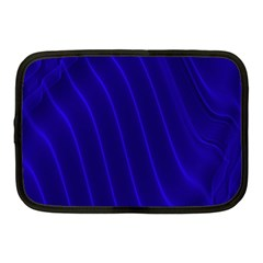 Sparkly Design Blue Wave Abstract Netbook Case (Medium)