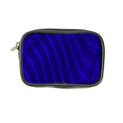 Sparkly Design Blue Wave Abstract Coin Purse