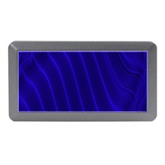 Sparkly Design Blue Wave Abstract Memory Card Reader (Mini)
