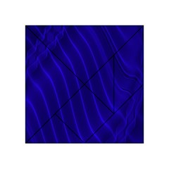 Sparkly Design Blue Wave Abstract Acrylic Tangram Puzzle (4  x 4 )