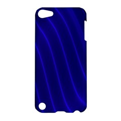 Sparkly Design Blue Wave Abstract Apple iPod Touch 5 Hardshell Case