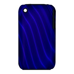 Sparkly Design Blue Wave Abstract iPhone 3S/3GS