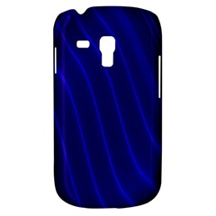 Sparkly Design Blue Wave Abstract Galaxy S3 Mini