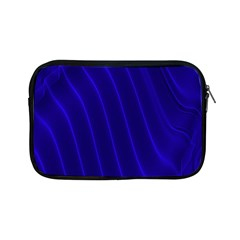 Sparkly Design Blue Wave Abstract Apple iPad Mini Zipper Cases