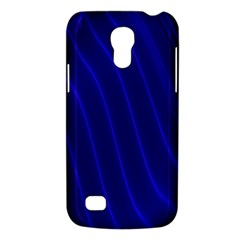 Sparkly Design Blue Wave Abstract Galaxy S4 Mini